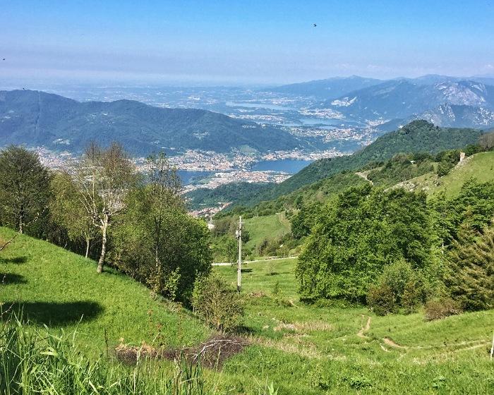 paesaggio passeggiate valle imagna