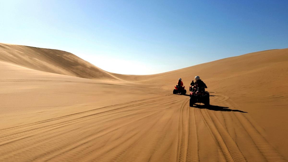 uscita in quad nel deserto di swakopmund