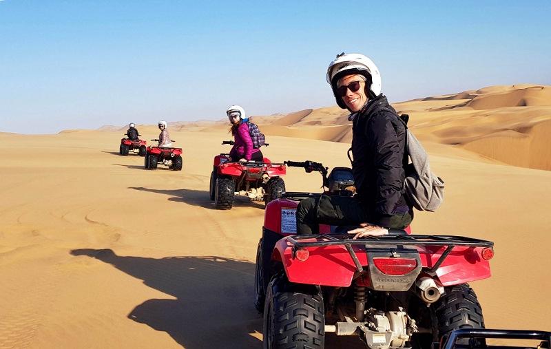 deserto namib a swakopmund escursione in quad