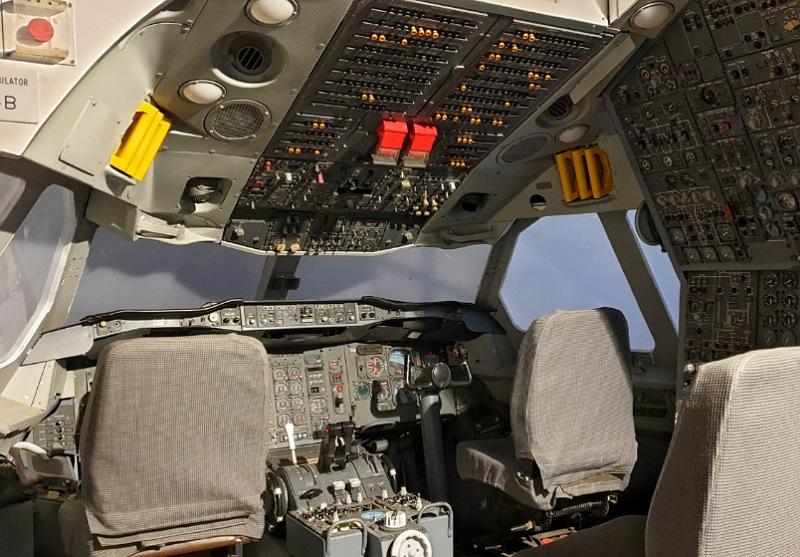 strumentazione di volo museo aerei malpensa