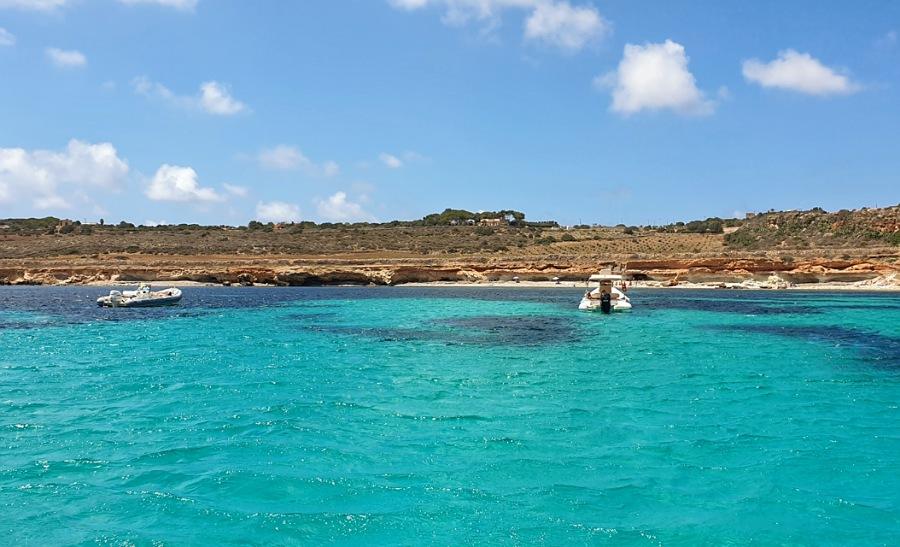 Cala Pirreca sull'isola di Favignana