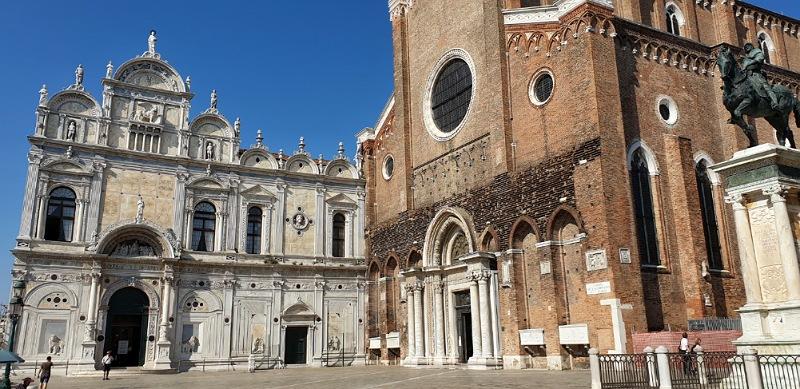 basilica e scuola a campo ss giovanni e paolo venezia