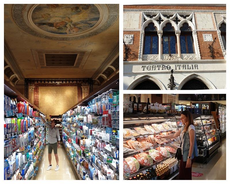 supermercato teatro italia a venezia