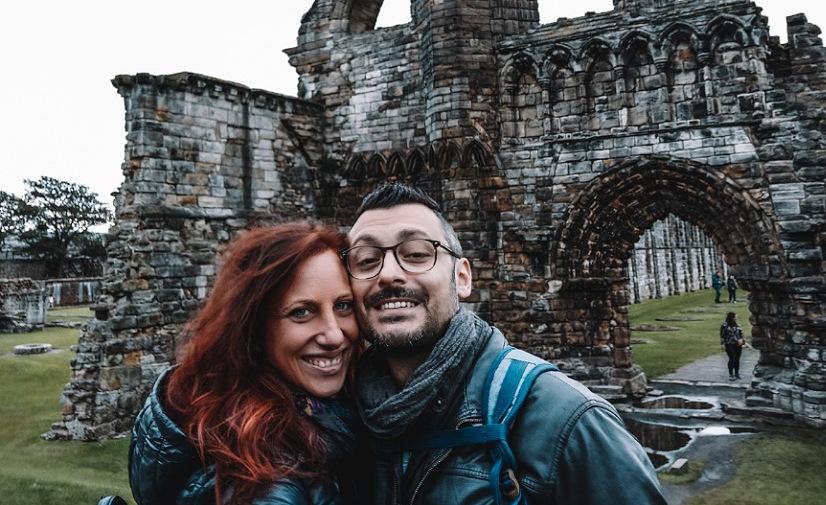 rovine di una chiesa in scozia dovesiba