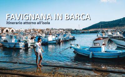 favignana in barca_noleggio_itinerario dell'isola