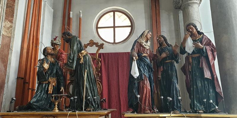 i misteri nella chiesa del purgatorio di trapani