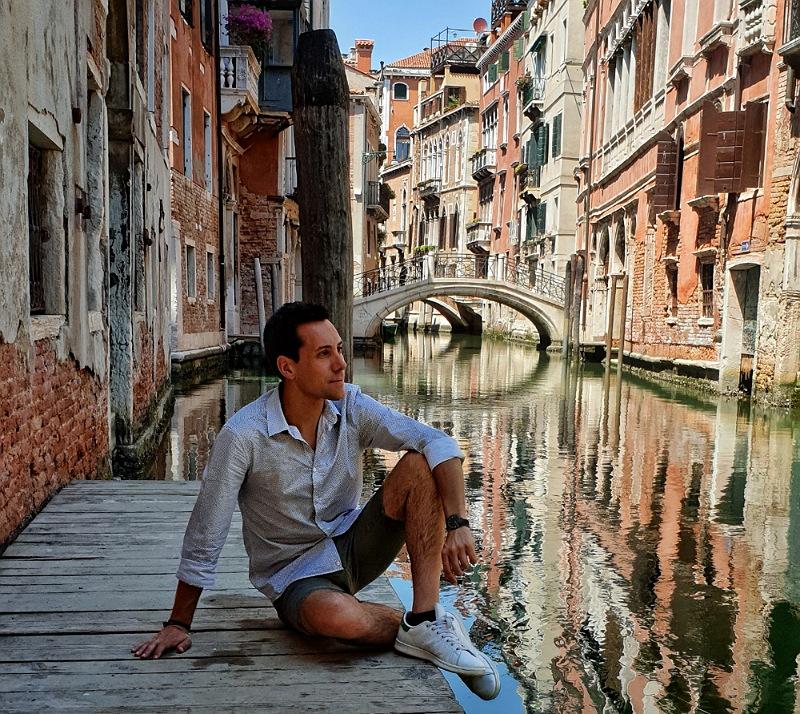canale caratteristico e poco conosciuto di venezia