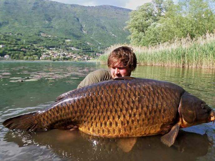 carp fishing lago di endine_pesca carpa