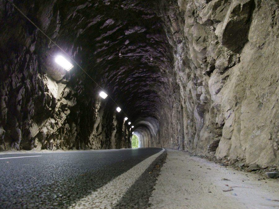 Galleria lungo la ciclovia della Val Brembana_cosa vedere in val brembana
