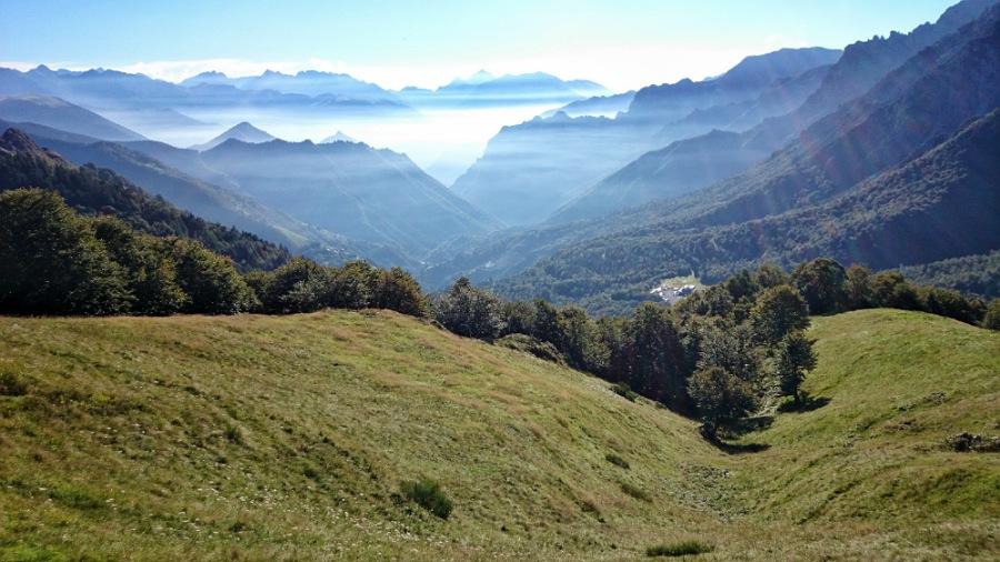 trekking e panorami della val brembana