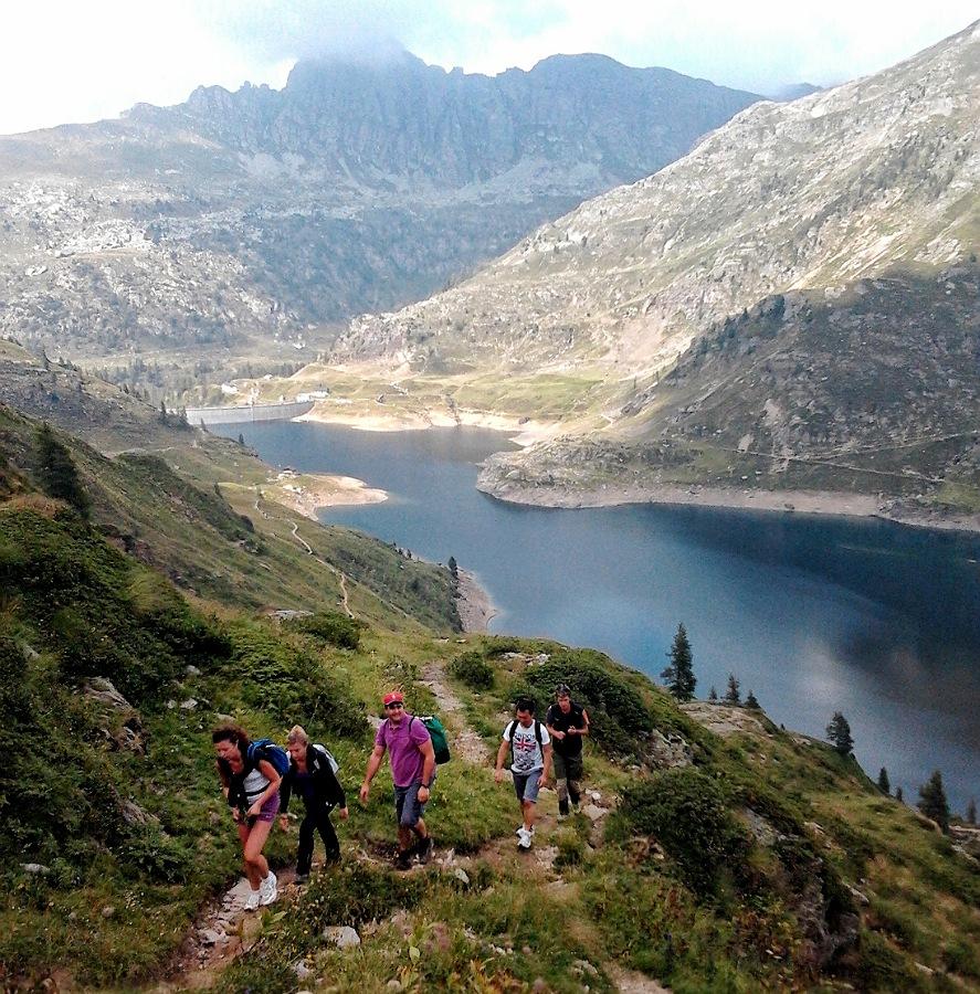 escursione al rifugio laghi gemelli in val brembana