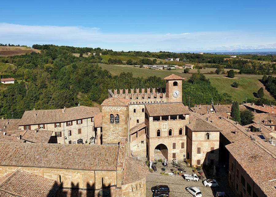 weekend nei colli piacentini_visita al borgo di castell'arquato