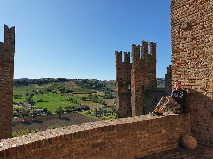 itinerario colli piacentini nel borgo di Castell'Arquato