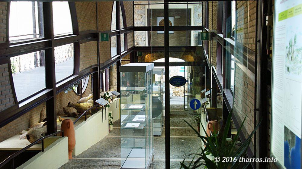 cosa vedere a villasimius quando piove_sala del museo archeologico