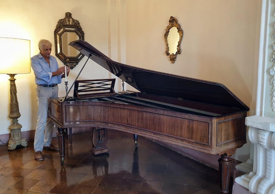 strumenti musicali al castello di gropparello