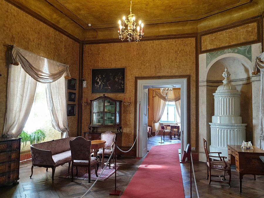 castel thun_interni con arredi originali