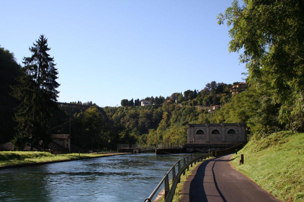 ciclo pedonale lungo il fiume adda_passeggiate in lombardia