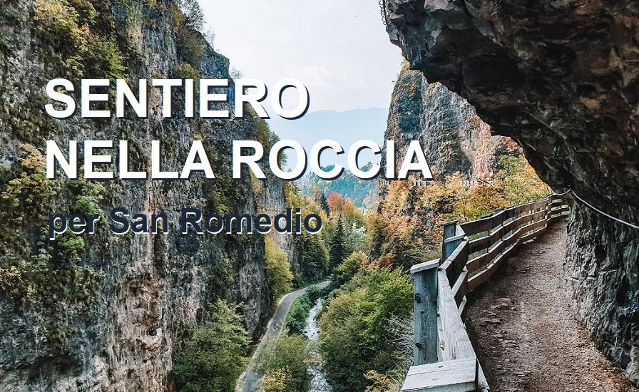 VAL DI NON_il Sentiero nella Roccia per San Romedio_Trentino