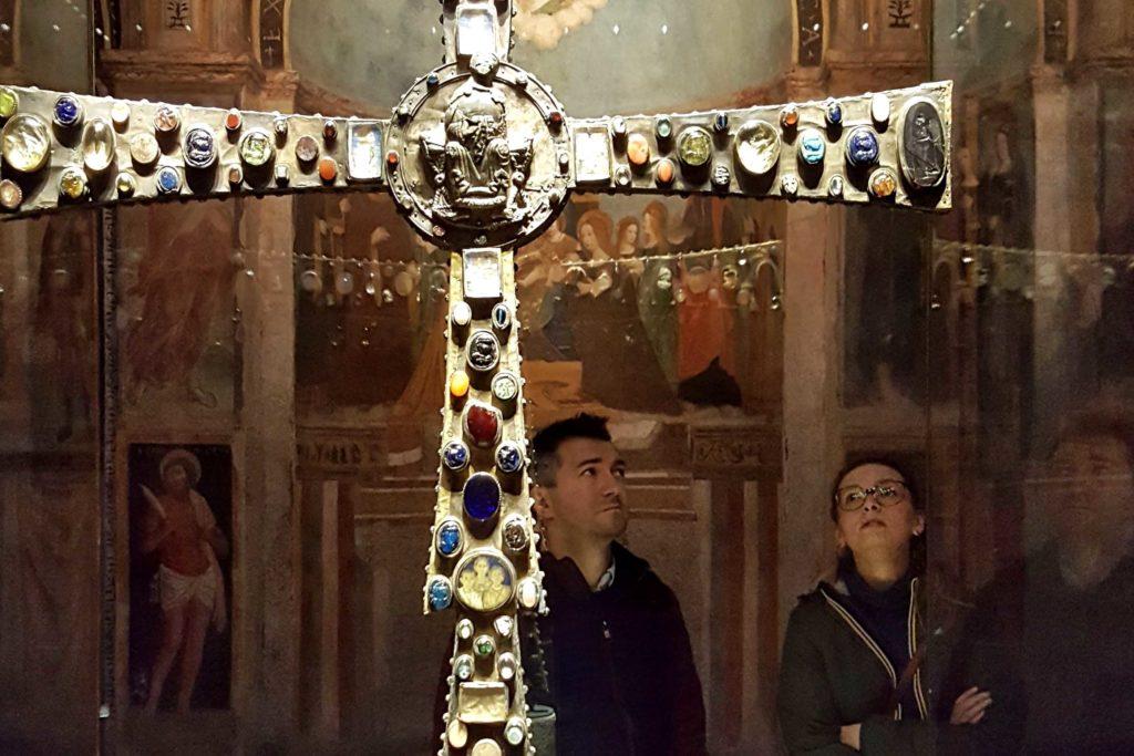 museo di santa giulia_croce re desiderio_longobardi