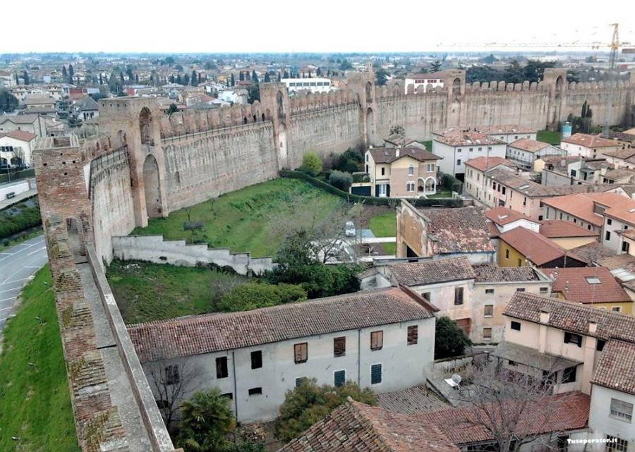 le mura di cittadella_borgo nel veneto