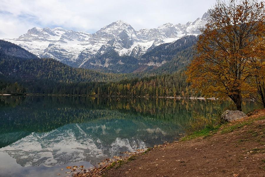 giro del lago di tovel_escursione_val di non_trekking