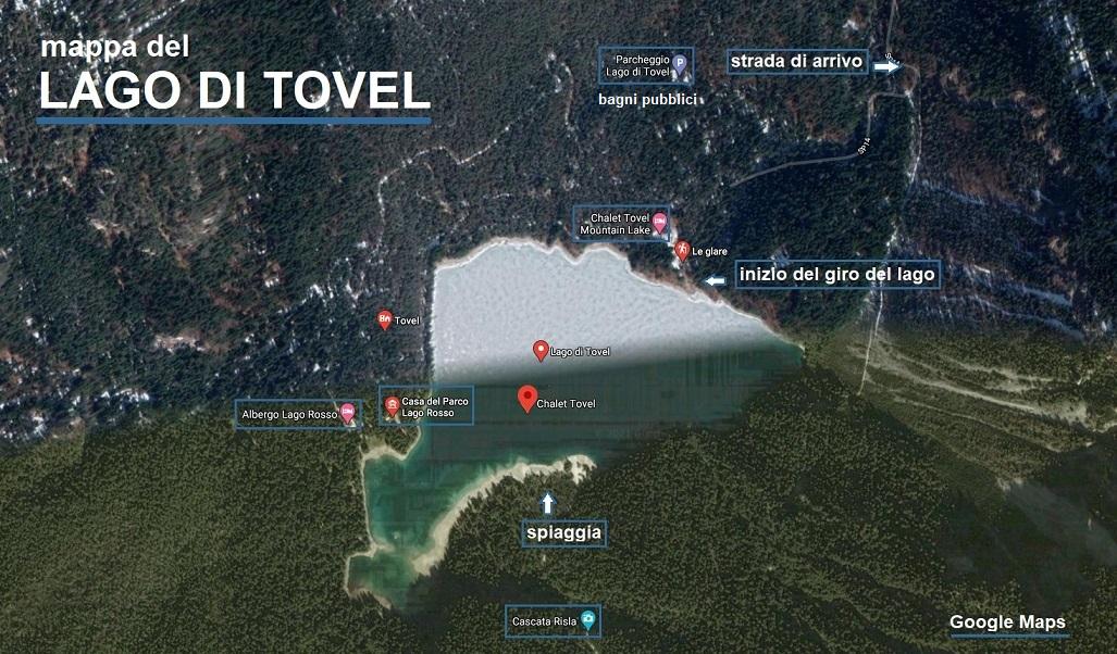 lago di tovel_mappa_escursione_giro del lago