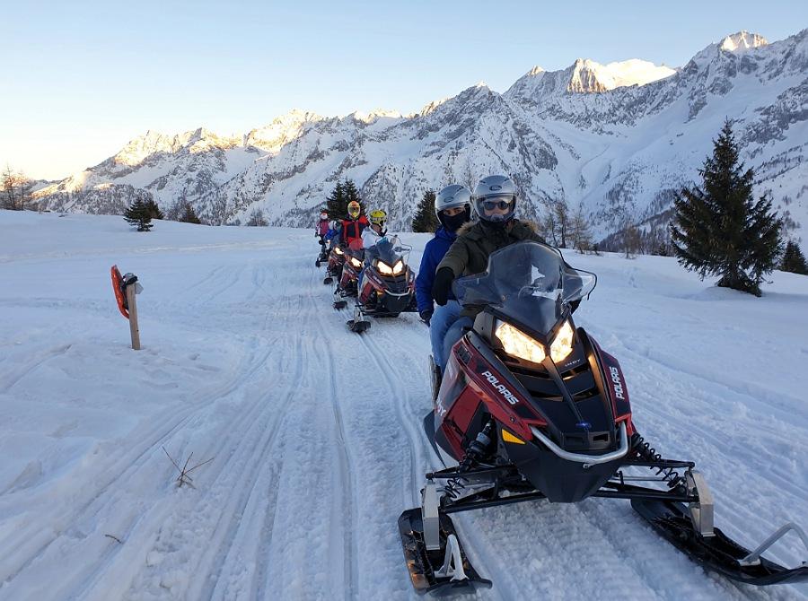 attività per un weekend sulla neve in lombardia