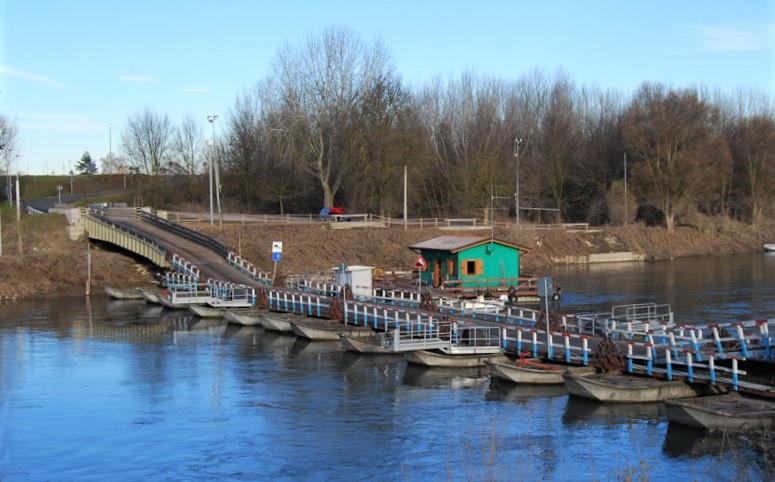 ponte di barche a Torre d'Oglio_piste ciclabili