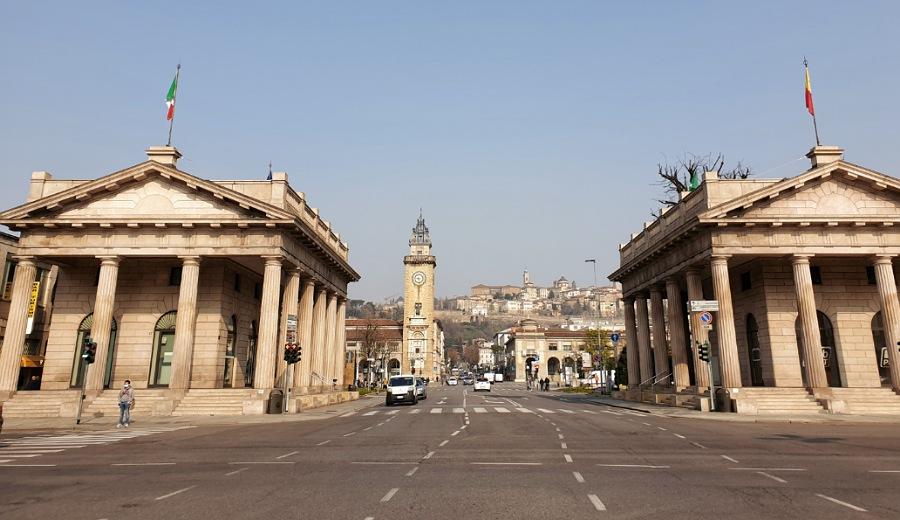 I Propilei di Porta Nuova: cosa vedere in Bergamo bassa