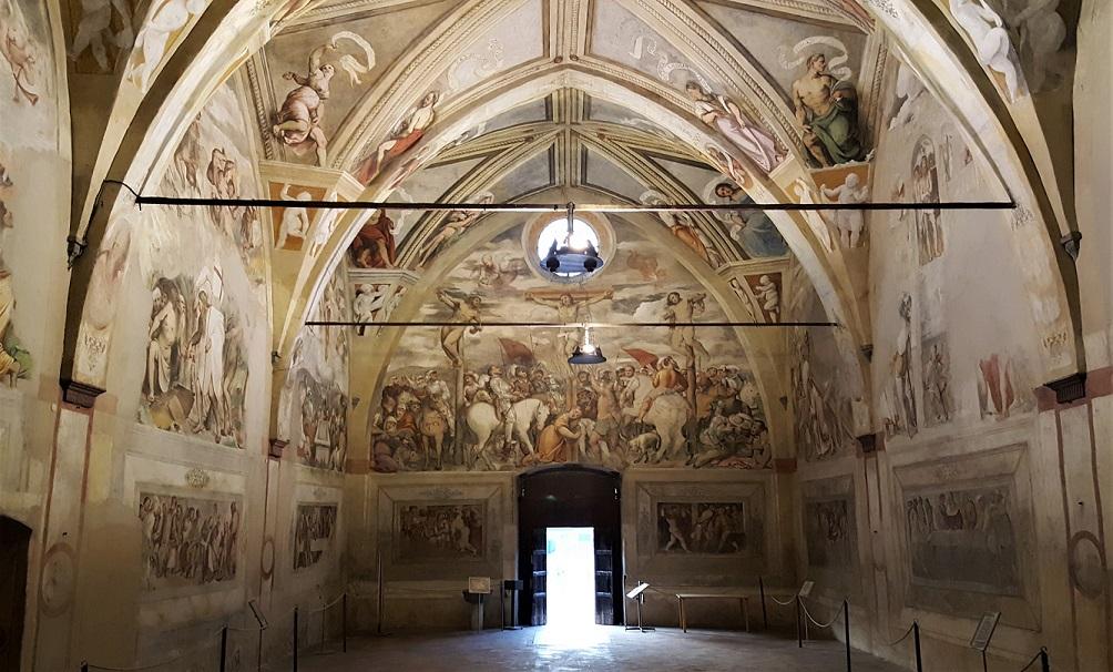 Santa Maria della Neve_lovere_romanino_cosa vedere