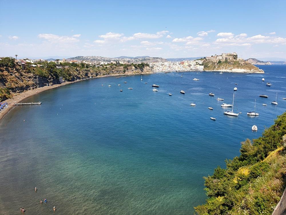 Panorama su Procida dal Belvedere Elsa Morante_cosa vedere in un giorno