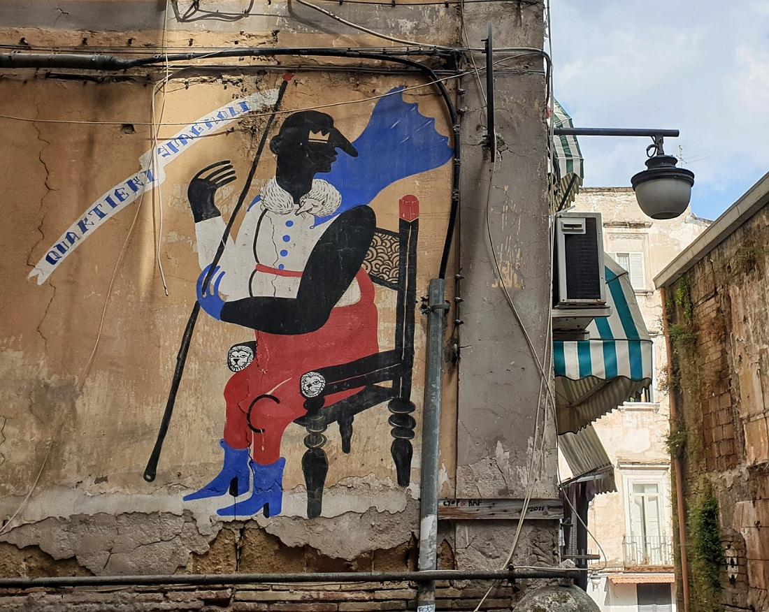 Streetart Cyop&Kaf nei Quartieri Spagnoli