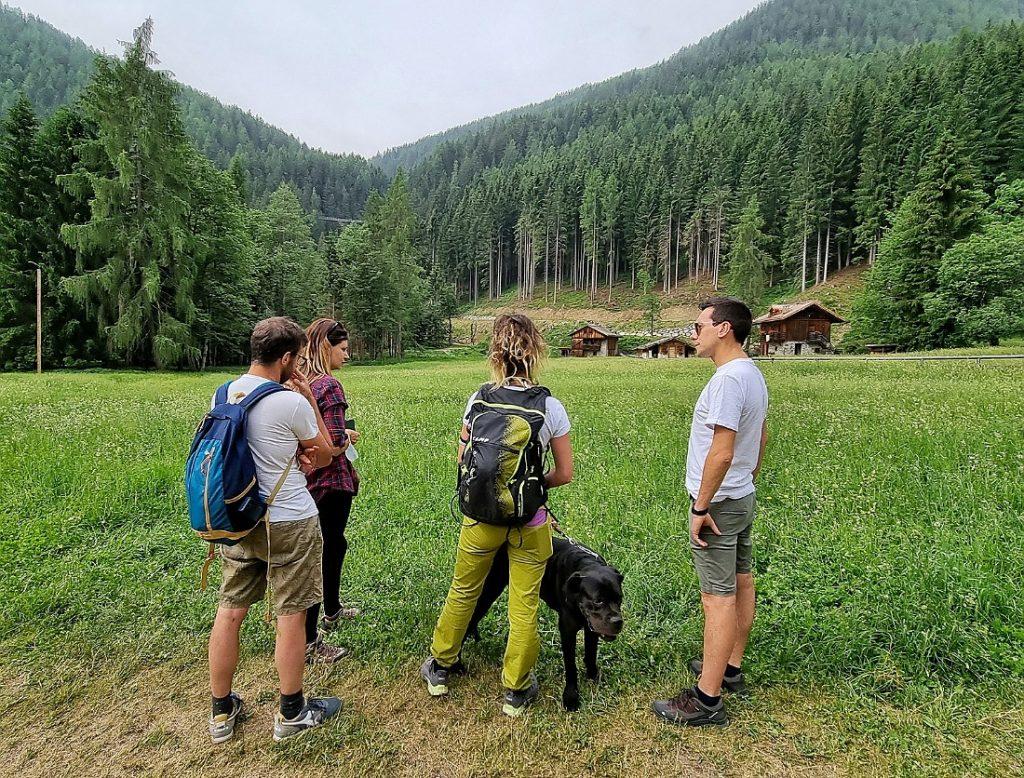 Escursione in Val di Rabbi con Experience Val di Sole