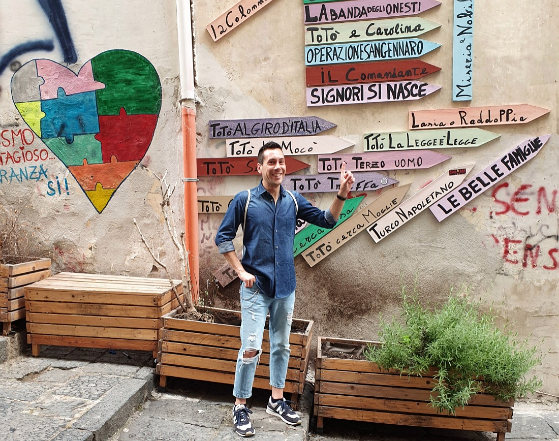 cosa vedere nei quartieri spagnoli_murales_vico Totò