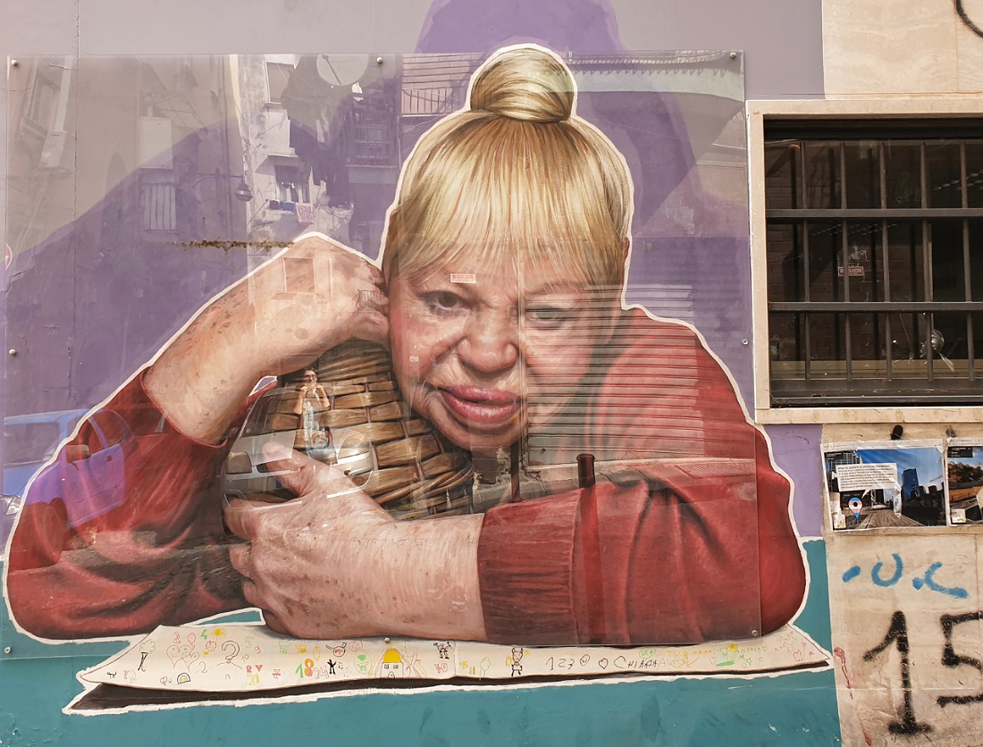 Il murales della Tarantina nei Quartieri Spagnoli_cosa vedere
