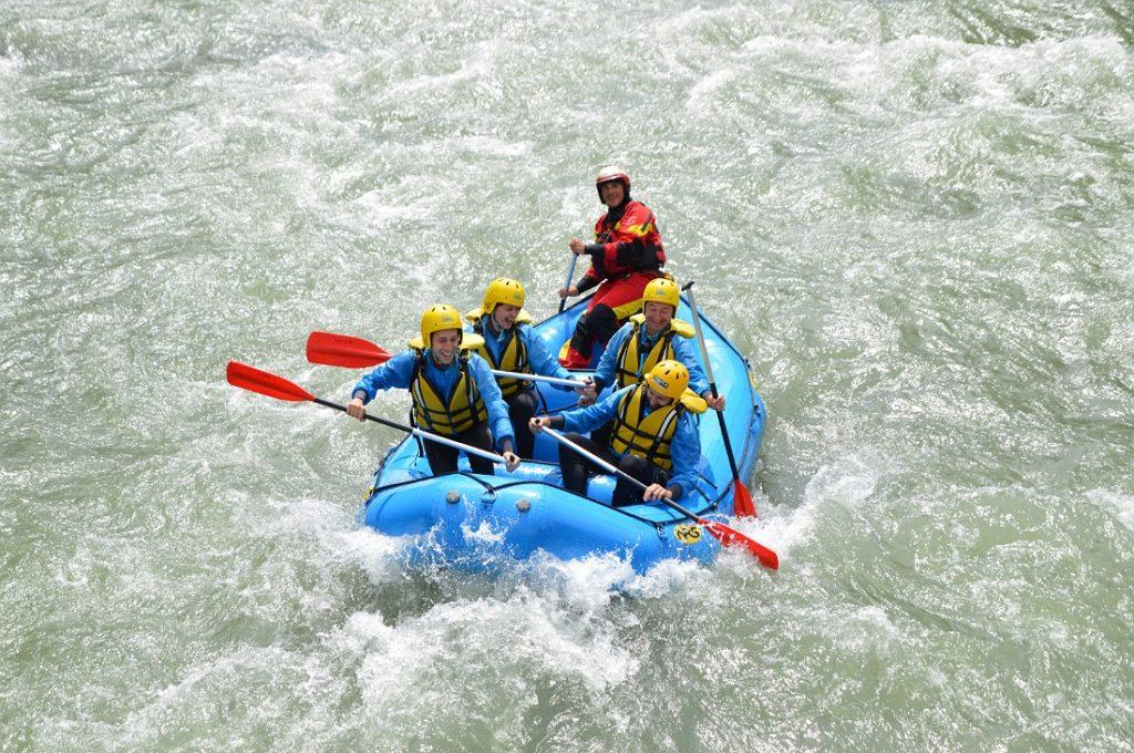 Rafting sul fiume noce in Val di Sole_cosa fare in estate