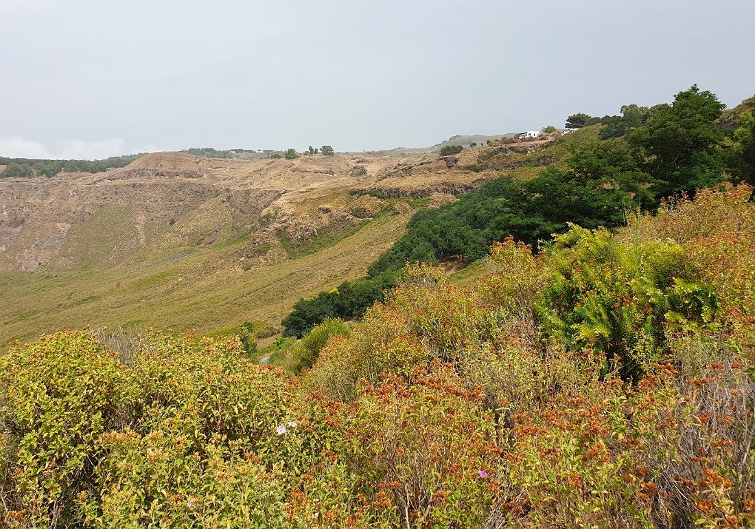 Il panorama del Piano sull'Isola di Vulcano_Eolie_cosa vedere