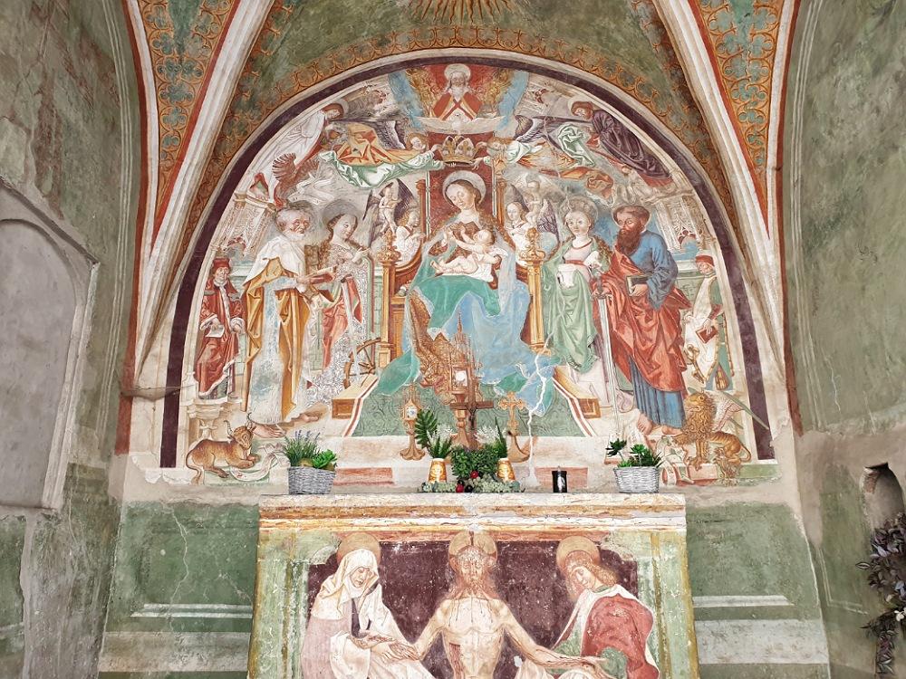 Affresco della Cappella di San Pietro a Lovere