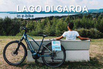 giro del lago di garda in bicicletta elettrica e cosa vedere in valtenesi