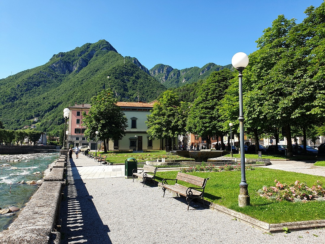 Passeggiate a San Pellegrino terme e giardini
