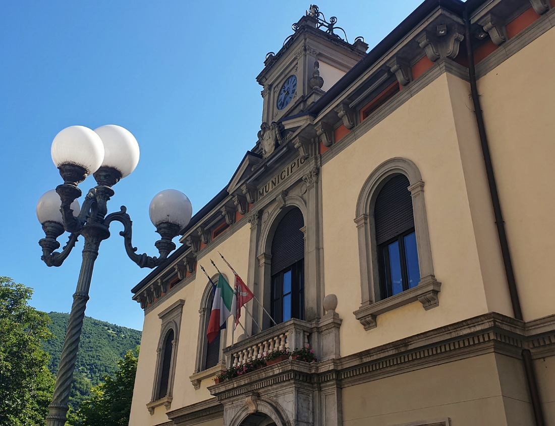 Il municipio liberty di San Pellegrino terme_itinerario a piedi