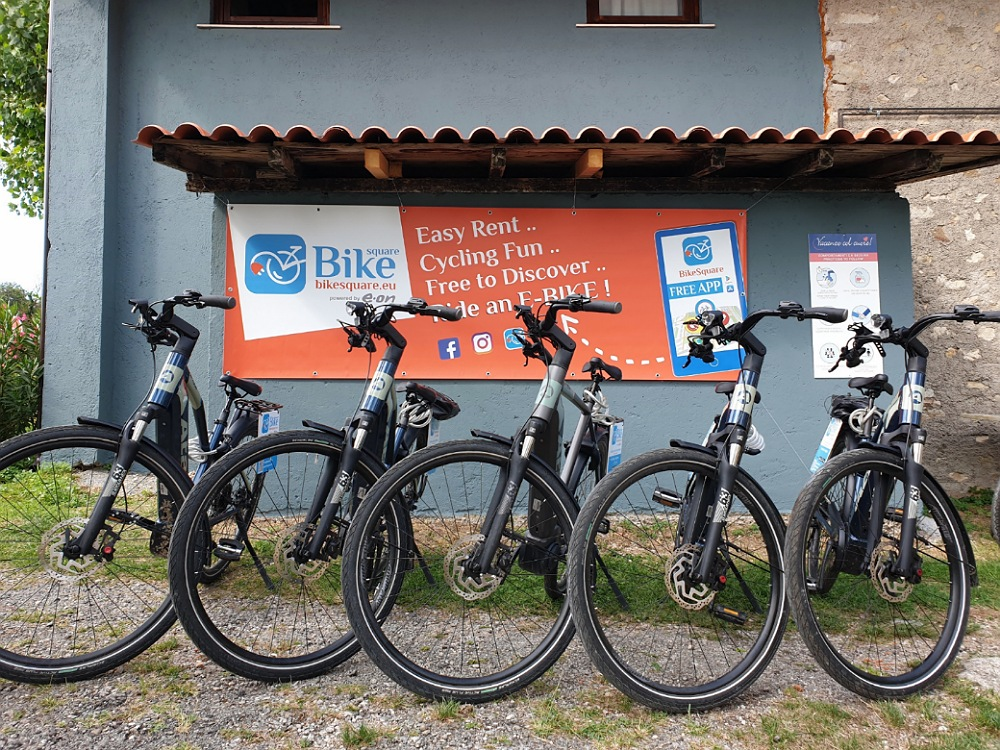 Noleggio e-bike sul Lago di Garda