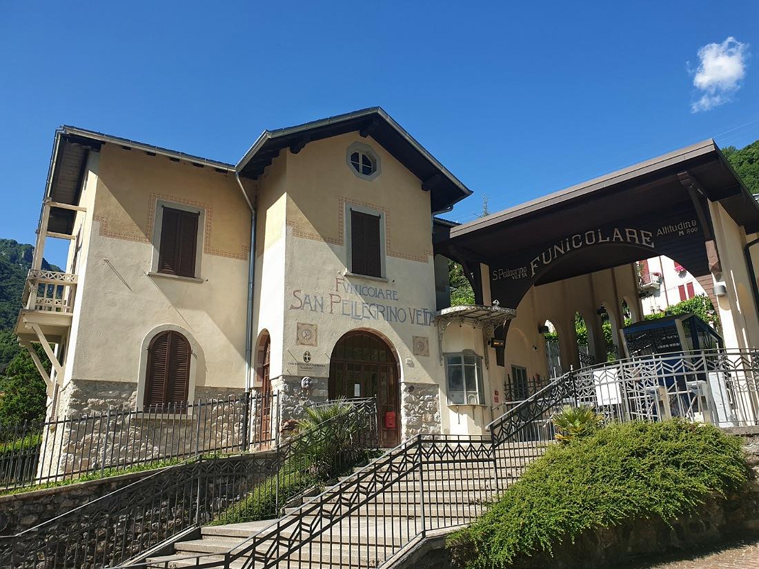 Stazione della funivia di San Pellegrino Terme_Località Vetta_come arrivare