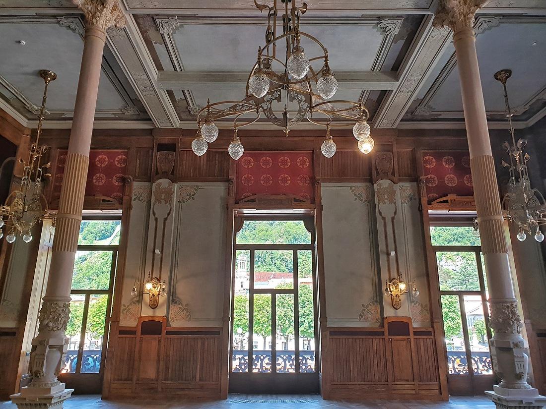 Interni del Grand Hotel di San Pellegrino Terme_cosa fare e cosa vedere nei dintorni