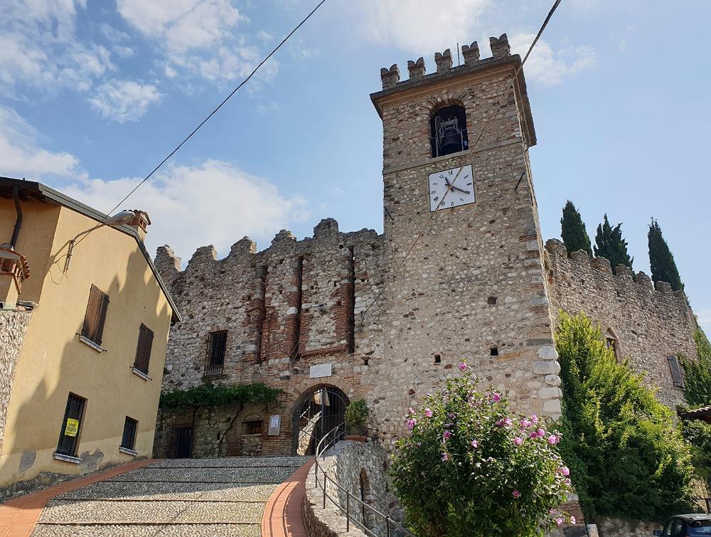 Il Castello di Soiano in Valtenesi_percorso in bicicletta