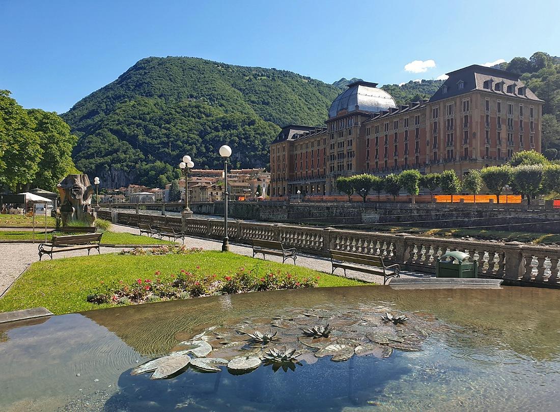 Giardini e Grand Hotel di San Pellegrino Terme