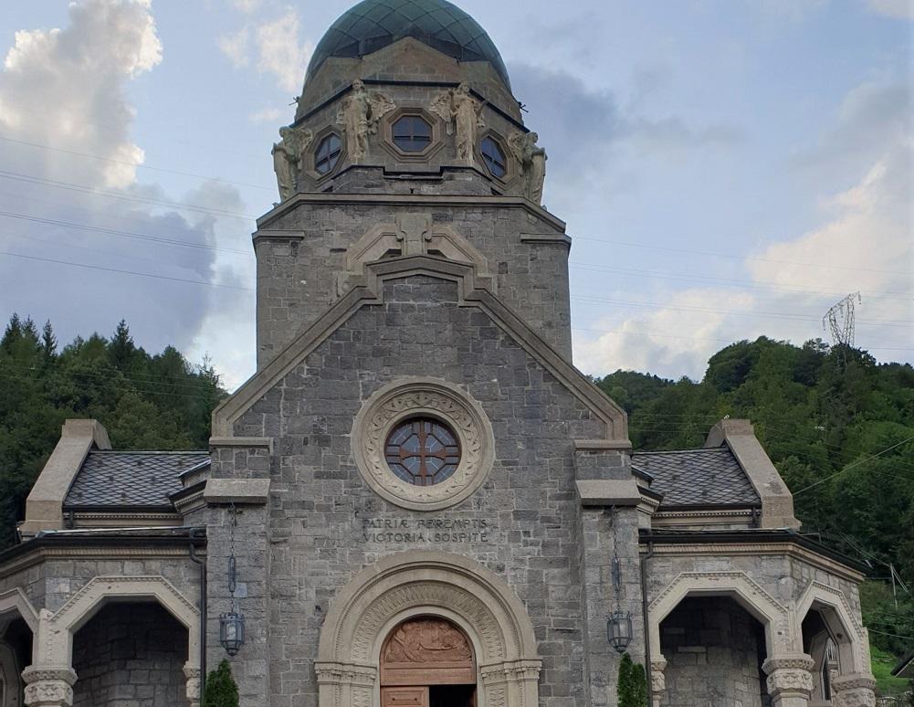 Il Tempio alla Vittoria a San Pellegrino Terme_cosa vedere