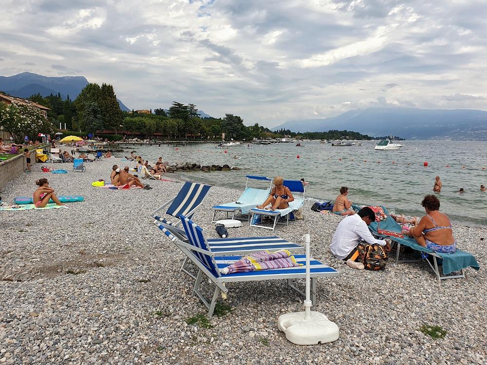 La Spiaggia Gardiola sul Lago di Garda_cosa vedere in e-bike