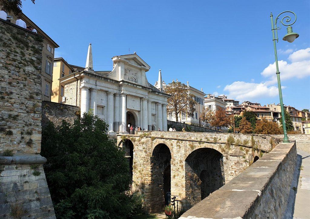 Mura di Bergamo alta_sito patrimonio UNESCO in Lombardia