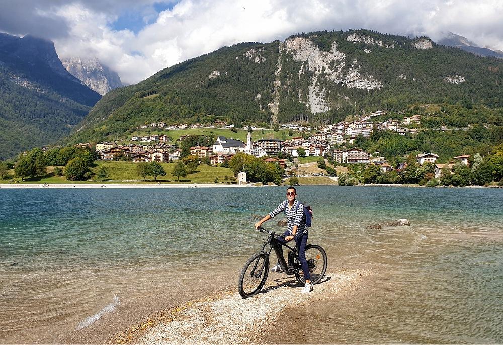 Giro del Lago di Molveno in bicicletta elettrica